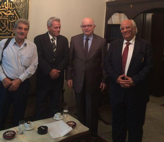 مكتب العلاقات الوطنية في طليعة لبنان زار رئيس تحرير جريدة اللواء الأستاذ صلاح سلام