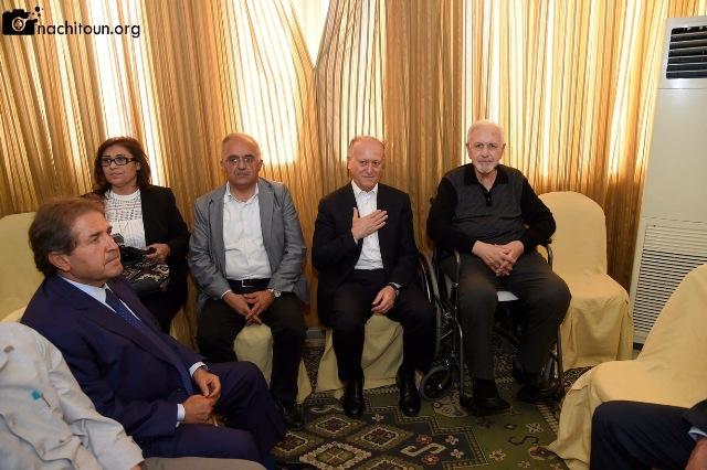 طليعة لبنان  أحيا ذكرى شهدائه في دارة الدكتور عبد المجيد الرافعي في طرابلس - مصور