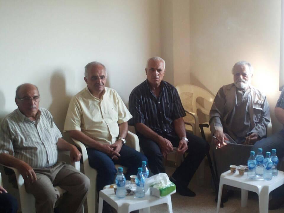 طليعة لبنان تقبل التعازي بالراحل الدكتور عبد المجيد الرافعي في عكار - مصور -