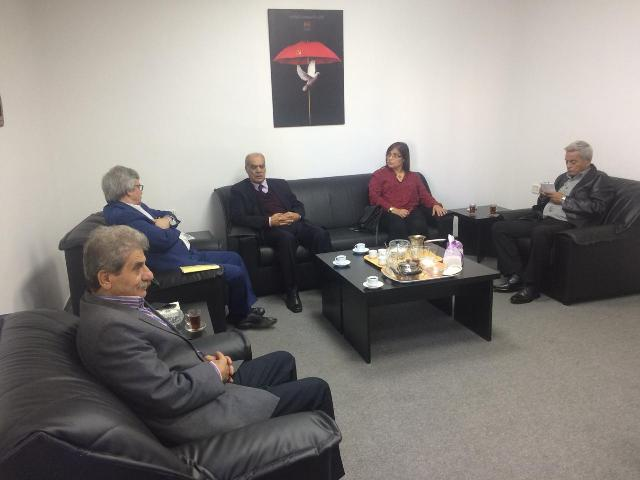 رئيس حزب طليعة لبنان زار  الامين العام للحزب الشيوعي الرفيق حنا غريب