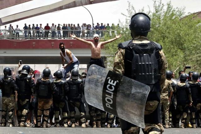 إنتفاضة الجنوب الكبرى في العراق لا تراجع إلى الوراء