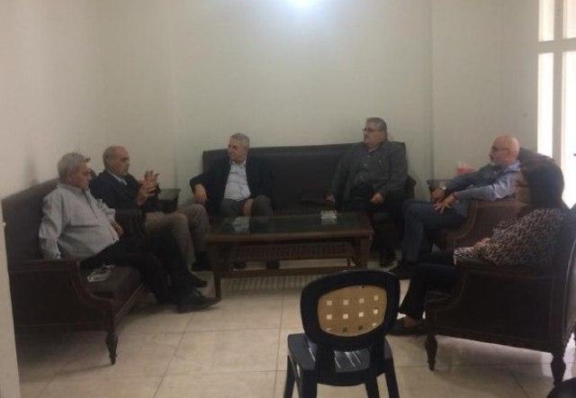 رئيس حزب طليعة لبنان الرفيق حسن بيان يستقبل وفداً من قيادة حزب الاتحاد