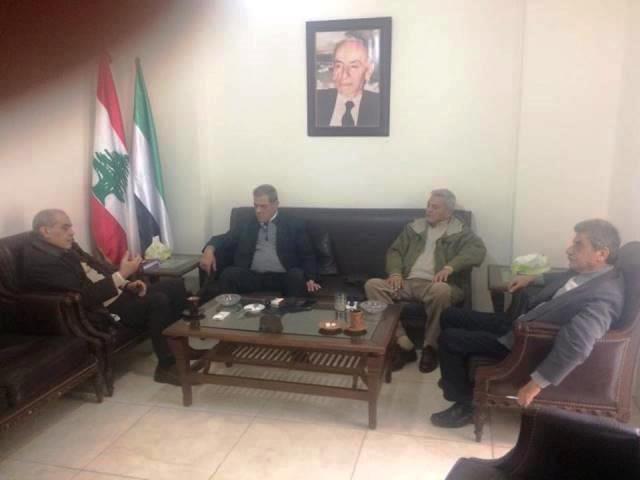 لقاء بين طليعة لبنان وحركة الشعب