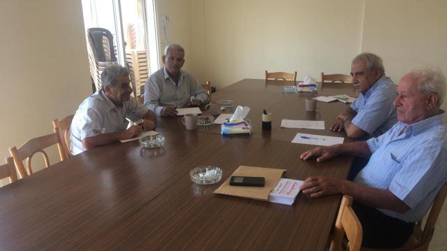 حزب طليعة لبنان العربي الاشتراكي يلتقي منظمة العمل الشيوعي