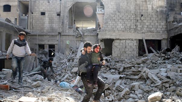 القيادة القومية دانت المجزرة في الغوطة الشرقية وطالبت بوقفها فوراً ومحاسبة مرتكبيها
