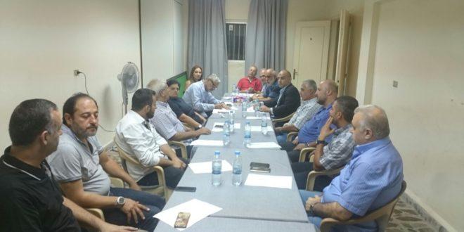 اللجنة اﻻهلية لمتابعة شؤون التعليم الرسمي في طرابلس عقدت اجنماعا في مقر كفاح الطلبة في طرابلس