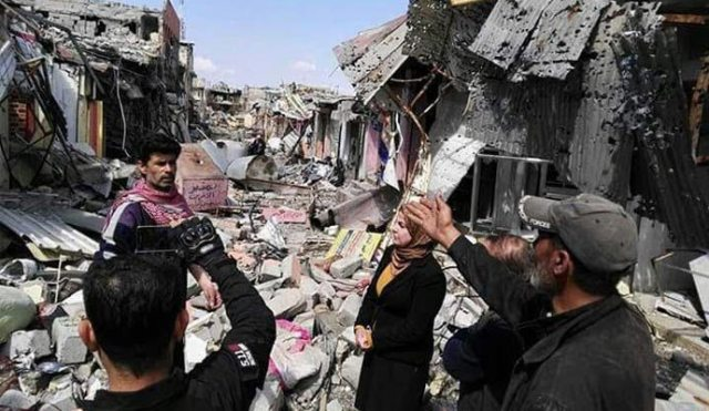 المحرر الاسبوعي : تدمير الموصل جريمة أميركية – إيرانية منظمة وشعب العراق سيزلزل الأرض تحت أقدام الغزاة