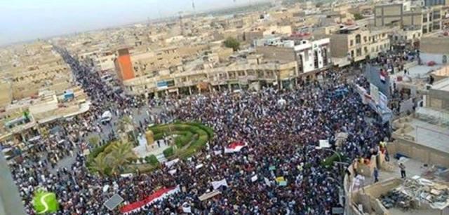 القيادة القومية تعقيبا على احتجاجات الناصرية : للقضاء على العملاء والفاسدين وتحرير العراق من الاحتلال