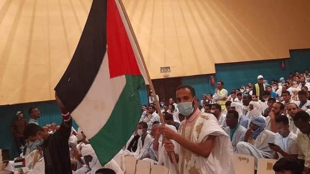 بيان مهرجان نصرة القدس في موريتانيا.