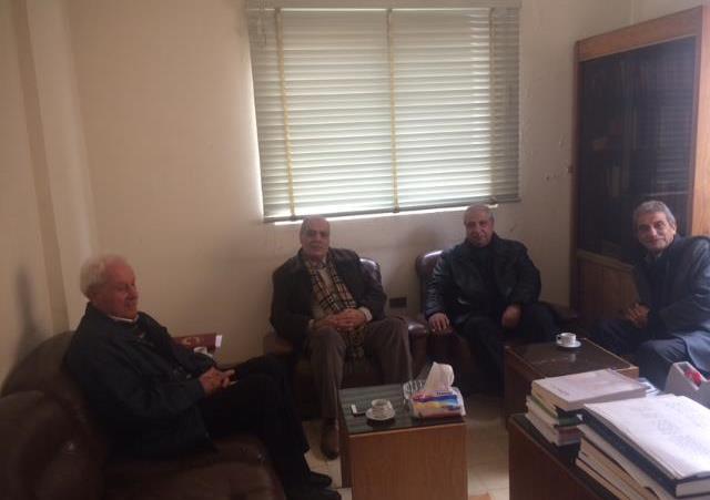 لقاء بين  طليعة لبنان ومنظمة العمل الشيوعي