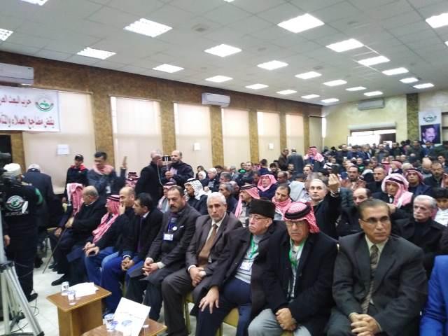 البعث في الاردن اقام حفلا تابينيا حاشدا في ذكرى استشهاد القائد صدام حسين في مدينة الكرك